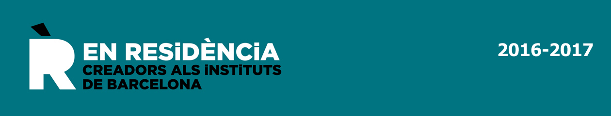 creadors EN RESIDÈNCIA als instituts 2016-2017