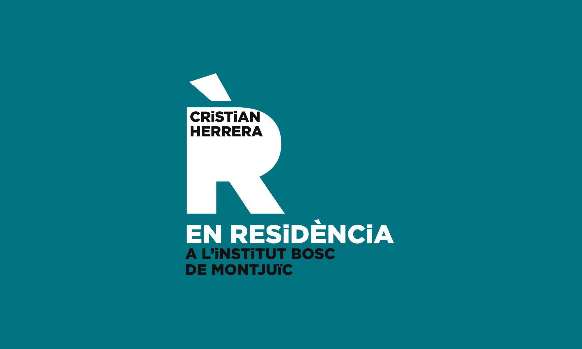 Cristian Herrera EN RESiDÈNCiA al Bosc de Montjuïc