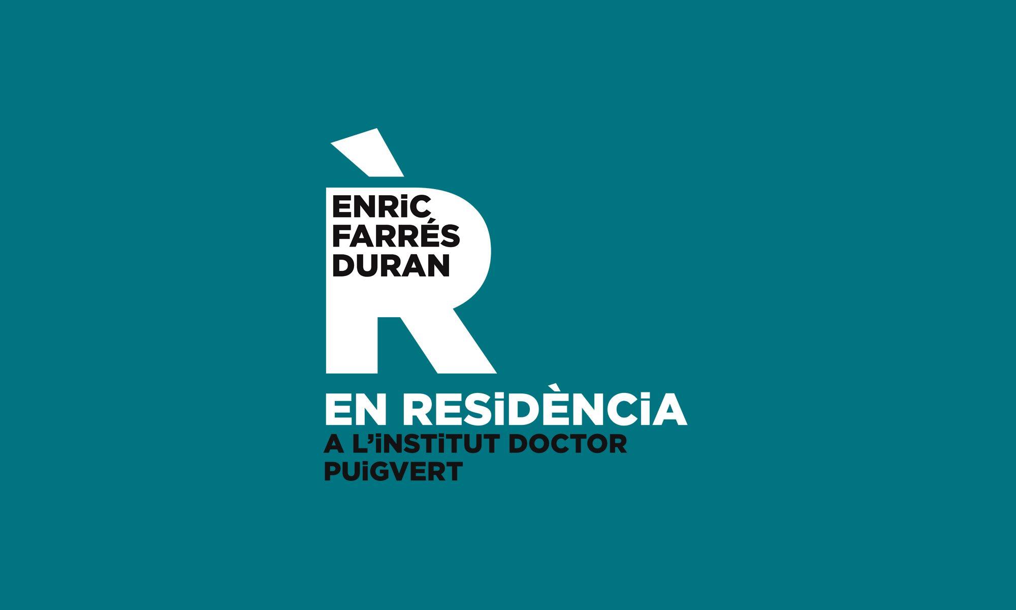 Enric Farrés Duran EN RESiDÈNCiA al Doctor Puigvert