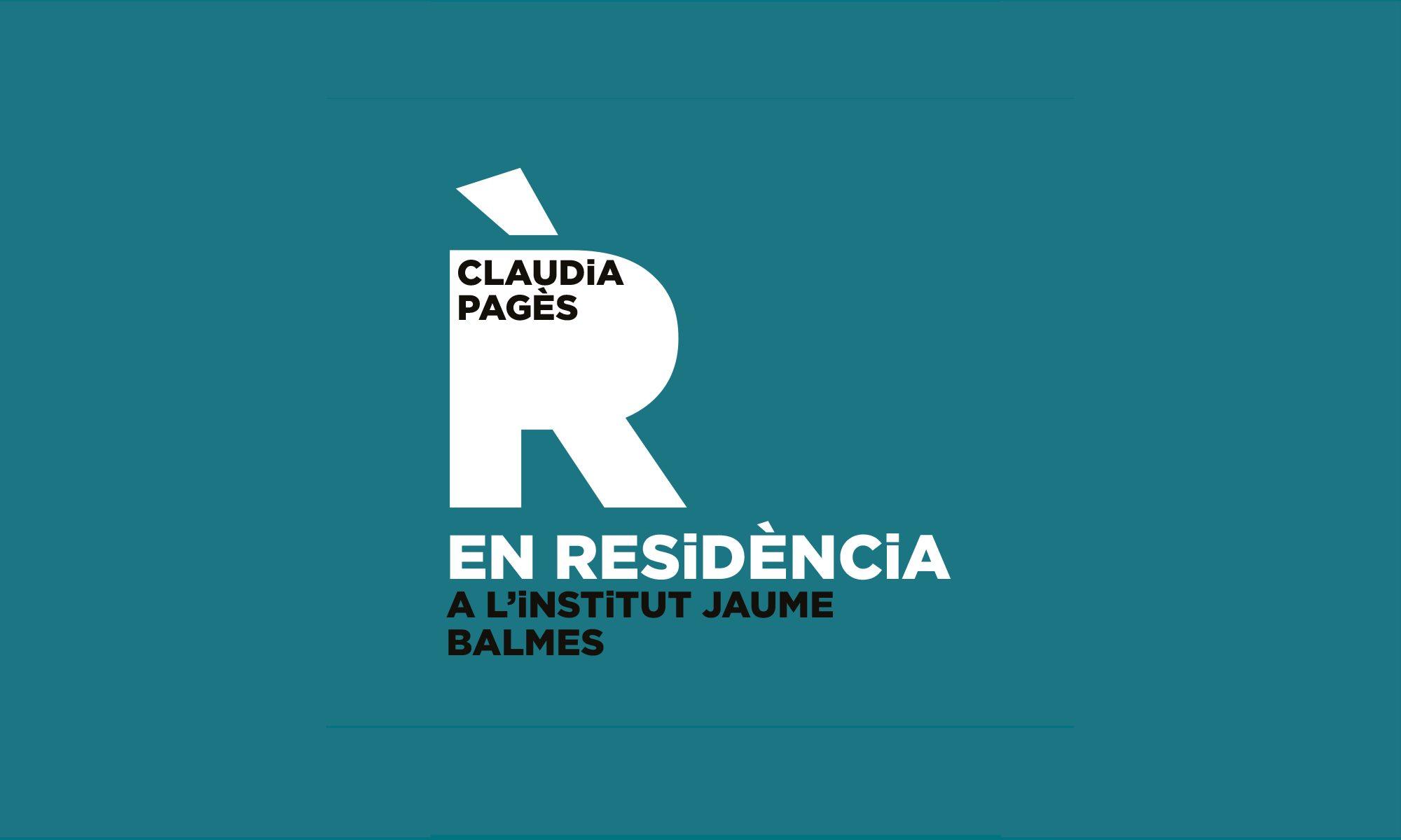 Clàudia Pagès EN RESiDÈNCiA