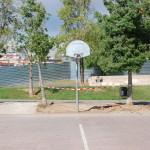 Camp de basquet centrat