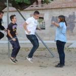 Nens saltant a corda