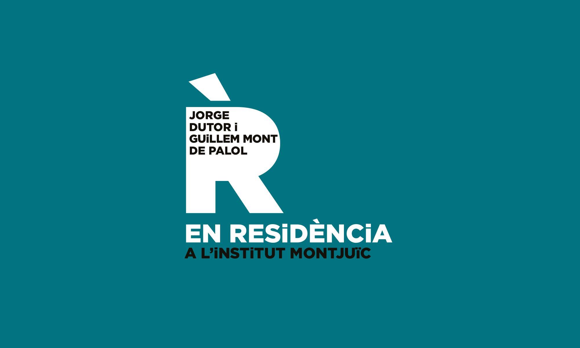 Jorge Dutor i Guillem Mont de Palol EN RESiDÈNCiA al Montjuïc