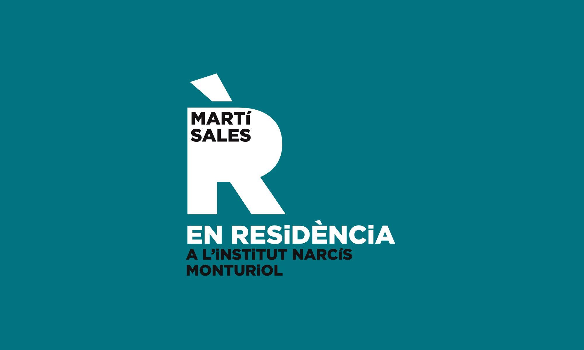 Martí Sales EN RESiDÈNCiA al Narcís Monturiol