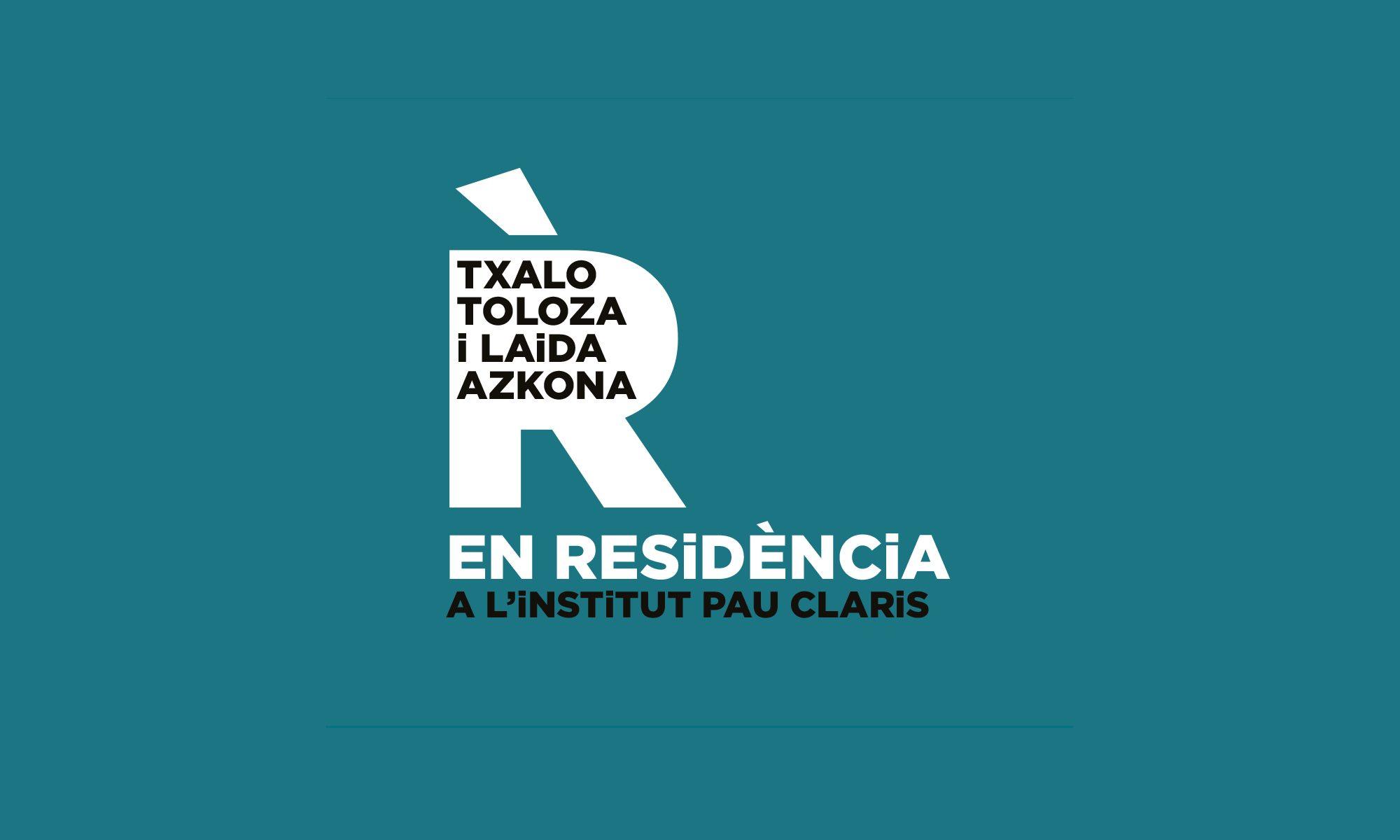 Txalo Toloza i Laida Azkona EN RESiDÈNCiA