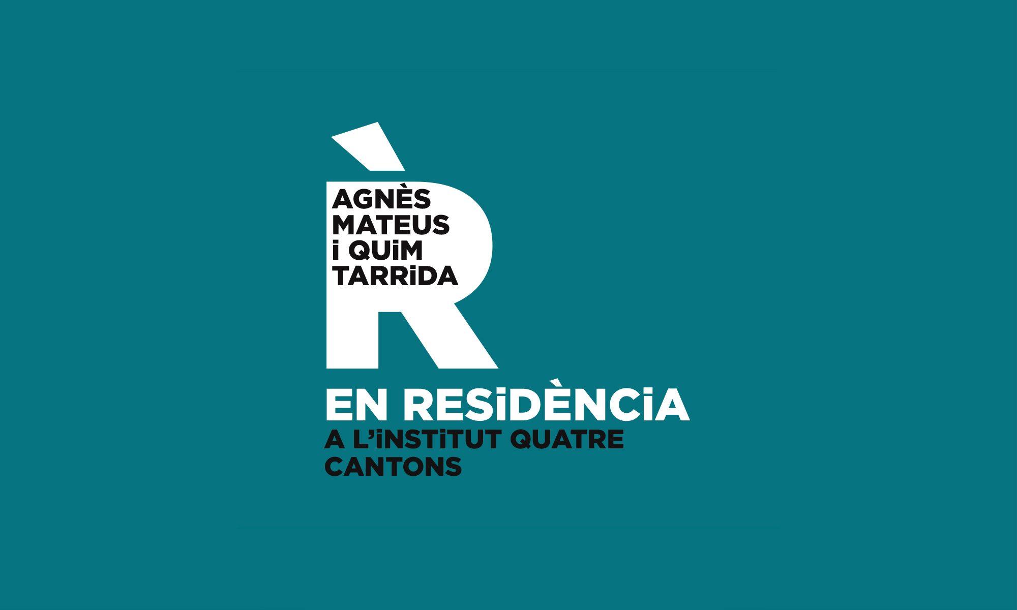 Agnès Mateus i Quim Tarrida EN RESiDÈNCiA